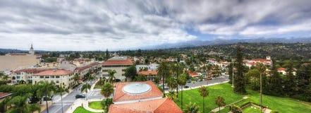 Santa Barbara, Califoania - Court House Buildings Stock Photo