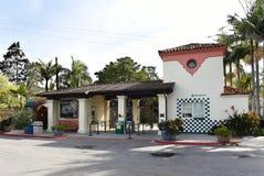 Santa Barbara Zoological Gardens entrance royalty free stock photography