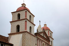 SANTA BARBARA, CALIFORNIA/USA - AUGUST 10 : The Mission in Santa Royalty Free Stock Images