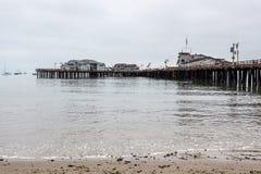 SANTA BARBARA, CALIFORNIA/USA - AUGUST 10 : The pier in Santa Ba Royalty Free Stock Photo