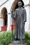 SANTA BARBARA, CALIFORNIA/USA - AUGUST 10 : Statue of Fray Junip Royalty Free Stock Photos