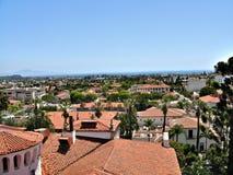 Santa Barbara, California, USA. Santa Barbara - cozy resort town in the eponymous district in the state of California, United States of America Stock Photo