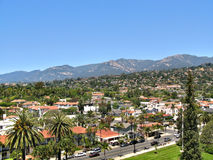 Santa Barbara, California, USA. Santa Barbara - cozy resort town in the eponymous district in the state of California, United States of America Stock Photography