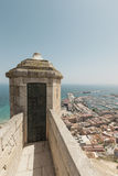Santa Barbara Castle in Alicante Stock Image