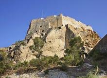 Santa Barbara castle in Alicante. Spain Stock Image