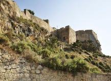 Santa Barbara castle in Alicante. Spain Stock Photography
