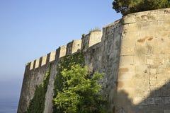 Santa Barbara castle in Alicante. Spain Royalty Free Stock Images