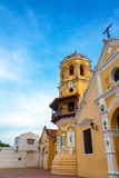 Santa Barbara Church in Mompox, Colombia. View of the beautiful Santa Barbara church in Mompox, Colombia Royalty Free Stock Image