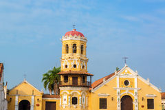 Santa Barbara Church. Part of the UNESCO World Heritage center of Mompox, Colombia Royalty Free Stock Images