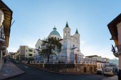 Santa Barbara Church Quito royalty-vrije stock afbeelding