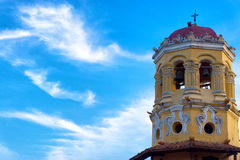 Santa Barbara Church Spire royalty-vrije stock foto's
