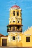 Santa Barbara Church Tower images libres de droits