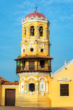 Santa Barbara Church Tower Royalty Free Stock Images