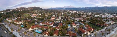 Santa Barbara Cityscape in Californi? stock afbeelding