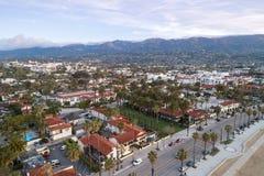 Santa Barbara Cityscape in Californi? royalty-vrije stock afbeeldingen