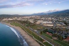 Santa Barbara Cityscape in Californi? royalty-vrije stock fotografie