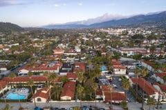 Santa Barbara Cityscape in Californi? royalty-vrije stock foto's