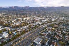 Santa Barbara Cityscape in Californi? stock foto