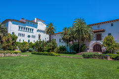Santa Barbara County Courthouse, California, USA royalty free stock images