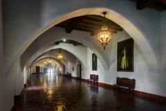 Santa Barbara Courthouse foto de stock royalty free