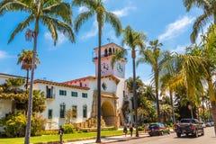 Santa Barbara Courthouse royalty-vrije stock fotografie
