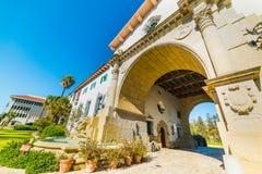 Santa Barbara courthouse Royalty Free Stock Photo
