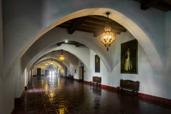 Santa Barbara Courthouse Royalty Free Stock Photo