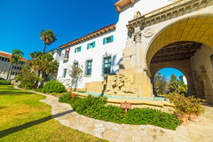 Free Santa Barbara Courthouse On A Clear Day Royalty Free Stock Photos - 82376118