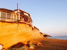 Santa Barbara de Corfou Images libres de droits