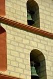 Santa barbara dzwonów misji fotografia stock