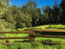 Santa Barbara fence Stock Image