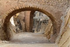 Santa Barbara fortress in Alicante Royalty Free Stock Photo