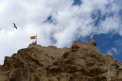 Santa Barbara fortress in Alicante Royalty Free Stock Photos