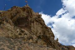Santa Barbara fortress in Alicante Royalty Free Stock Photography