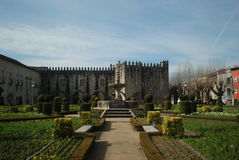 Santa Barbara Garden, Braga Lizenzfreie Stockbilder