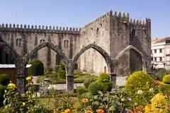 Santa Barbara Garden, Braga royalty-vrije stock afbeeldingen