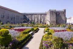 Santa Barbara Garden, Braga royalty-vrije stock fotografie