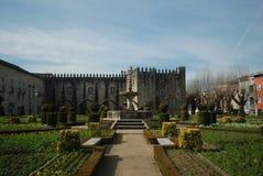 Santa Barbara Garden, Braga Royalty Free Stock Images