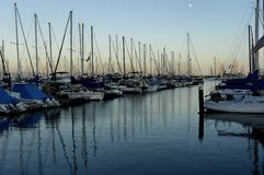 Santa Barbara Harbor Royalty Free Stock Photos