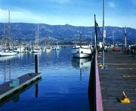 Santa Barbara Harbor Royalty Free Stock Photos
