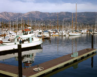 Santa Barbara Harbor Royalty Free Stock Image