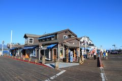 Santa Barbara, Kalifornia Fotografia Royalty Free