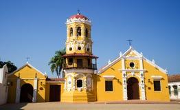 Santa Barbara kyrka Arkivfoton