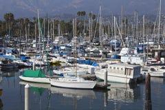 Santa Barbara Marina Stock Image