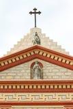 Santa Barbara misi krzyż Obraz Royalty Free