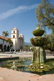 Santa Barbara Mission royalty free stock photography