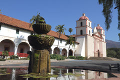 Santa Barbara Mission Royalty Free Stock Image