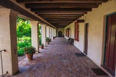 Santa Barbara Mission. Historic Santa Barbara Mission building Stock Photos