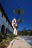 Santa Barbara Mission Royalty Free Stock Photo