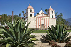Santa Barbara Mission Foto de Stock Royalty Free